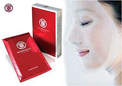Питательная маска для лица на тканевой основе 3D Face Mask Shiawasedo